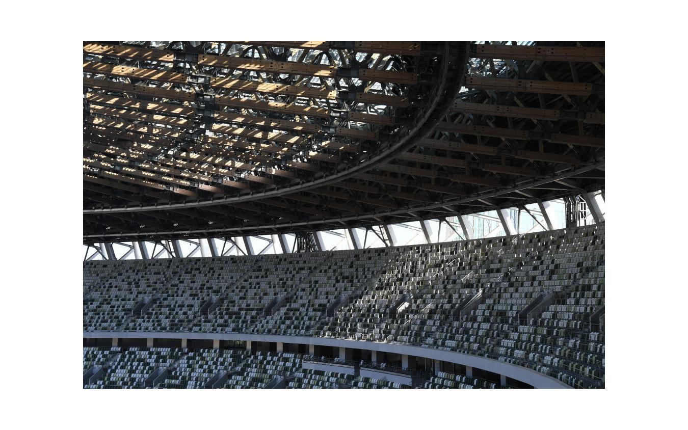 東京の国立競技場