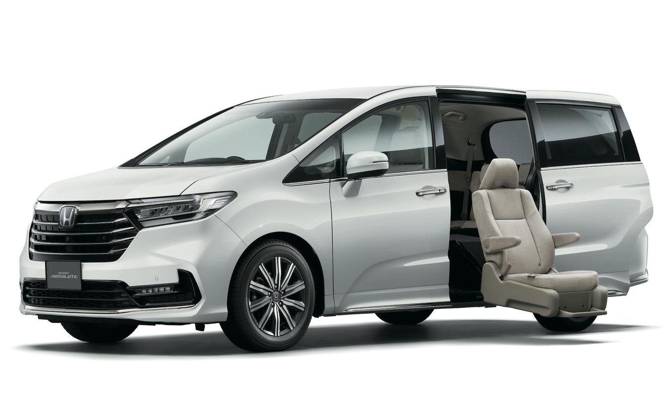 オデッセイABSOLUTE サイドリフトアップシート車(2020年)