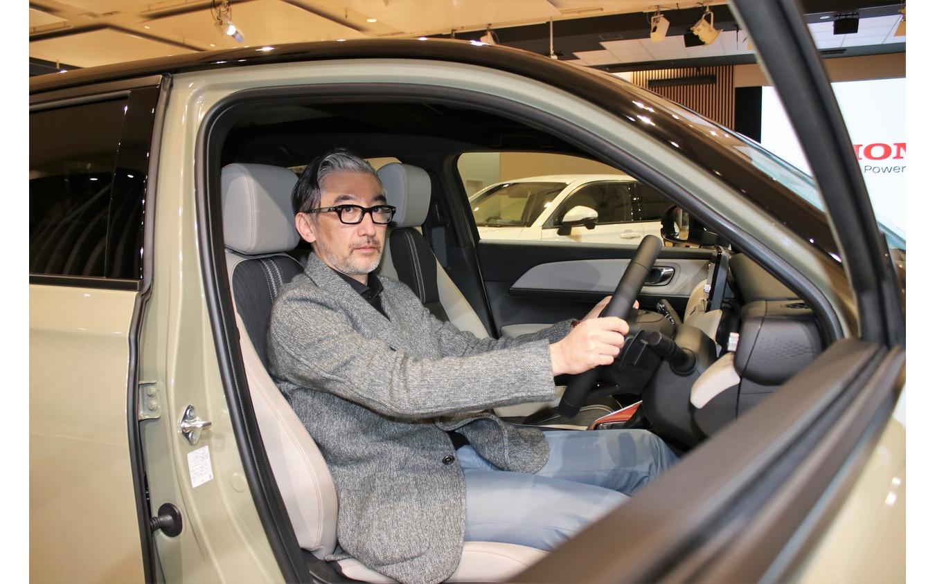 本田技術研究所デザインセンターデザイン室プロダクトデザインスタジオ研究員デザイナーの廣田貴士さん