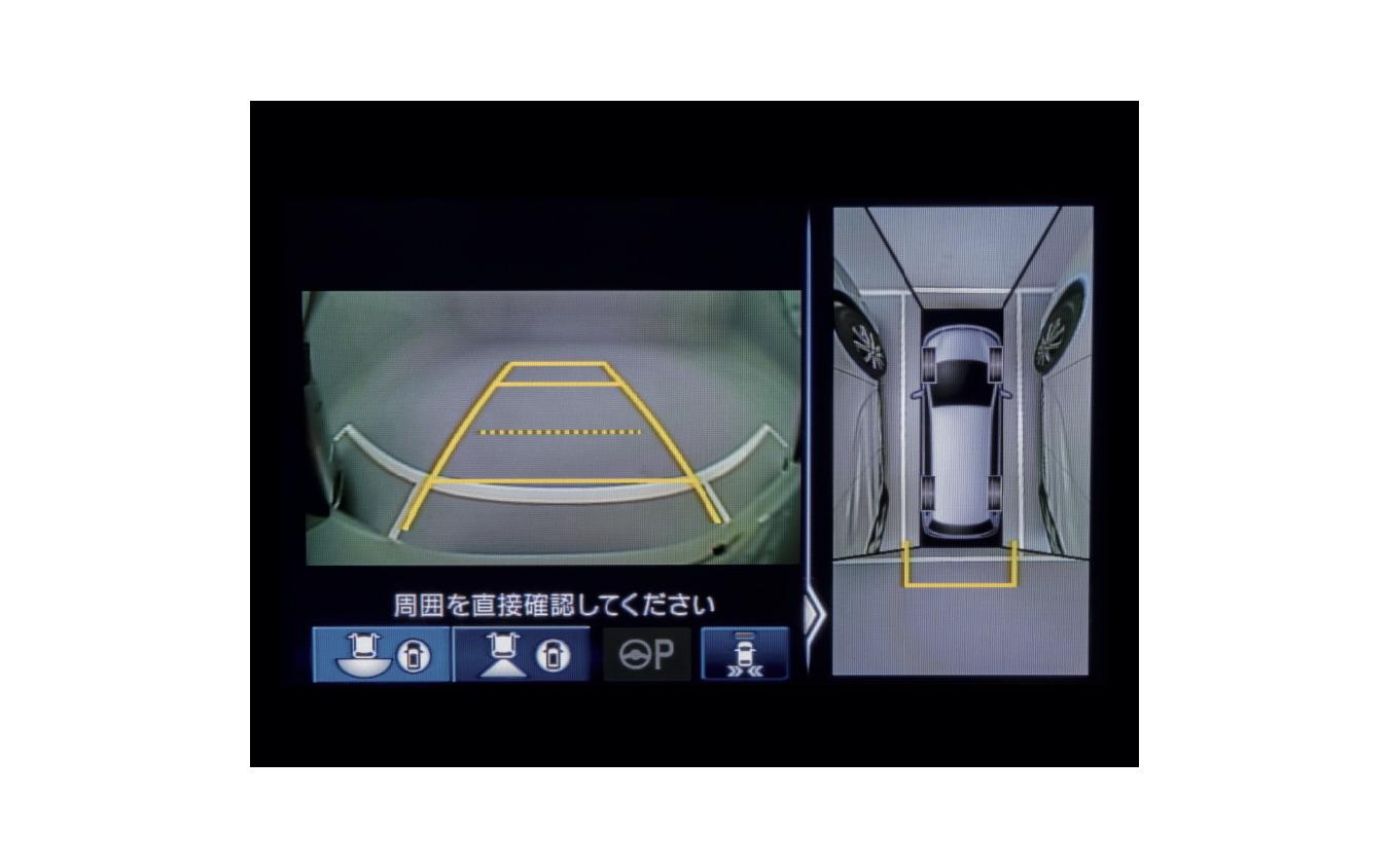 ホンダ・オデッセイのマルチビューカメラシステム