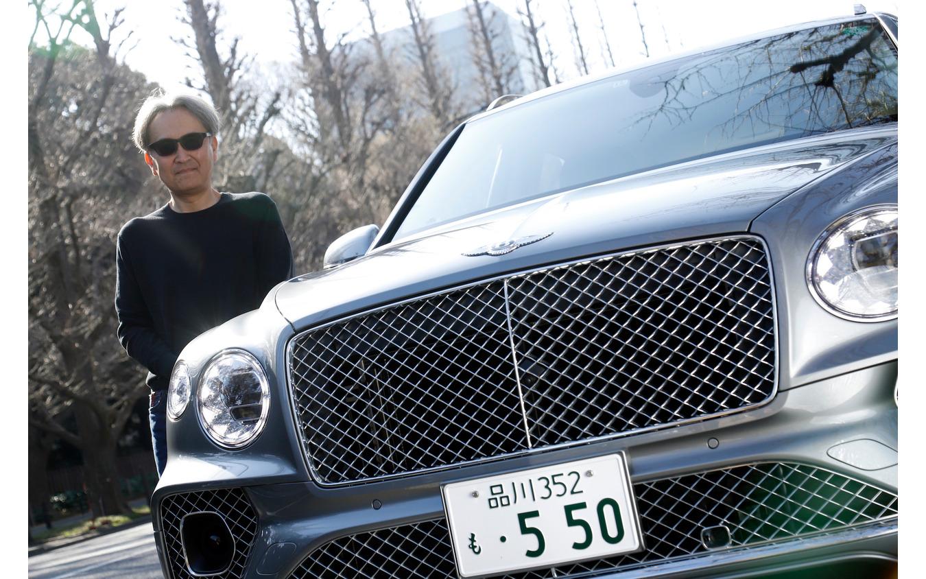 ベントレー ベンテイガ 新型 V8モデル(渡辺慎太郎氏)