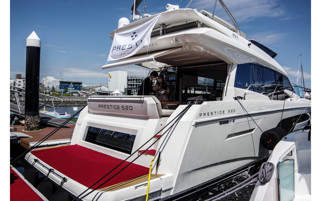 プレステージ520(ジャパンインターナショナルボートショー2021)