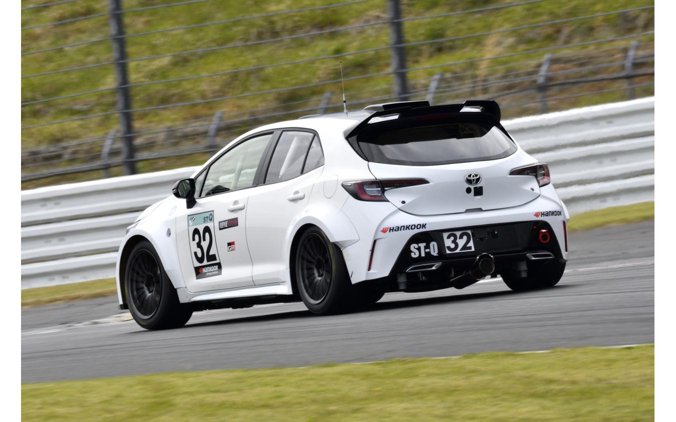 スーパー耐久シリーズに参戦する「水素エンジン」搭載のカローラスポーツ