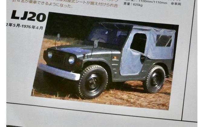 スズキ ジムニー 初代(LJ20)