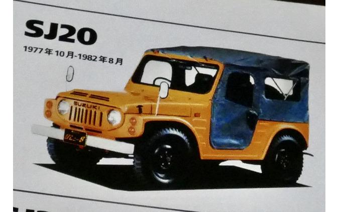 スズキ ジムニー 初代(SJ20)