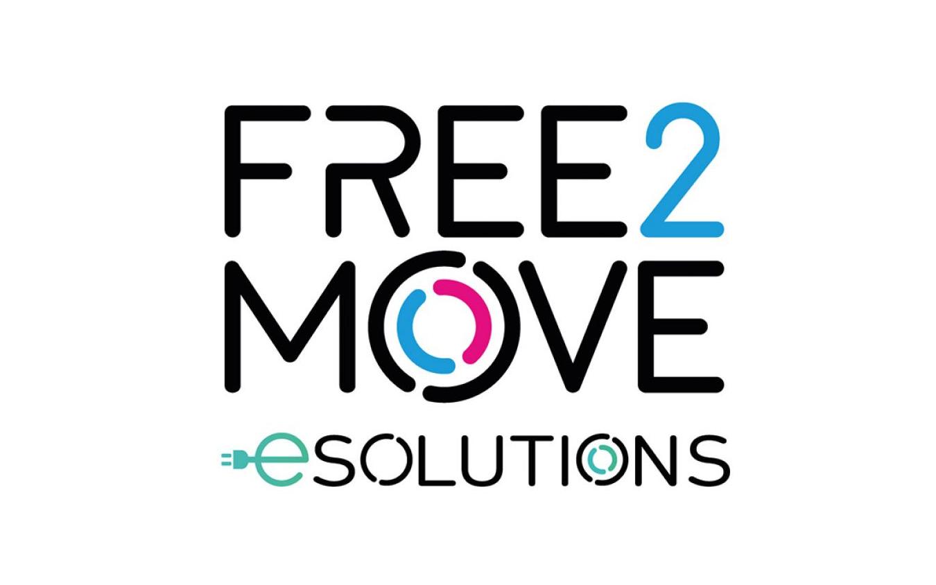 ステランティスのeモビリティ分野における合弁会社「Free2Move eSolutions」のロゴ