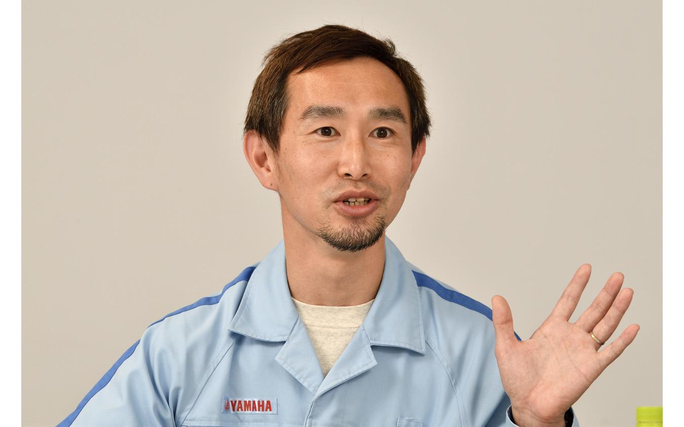 パワートレインユニット パワートレイン開発統括部 第2PT開発部 MC設計グループ 主務の三吉伸幸氏