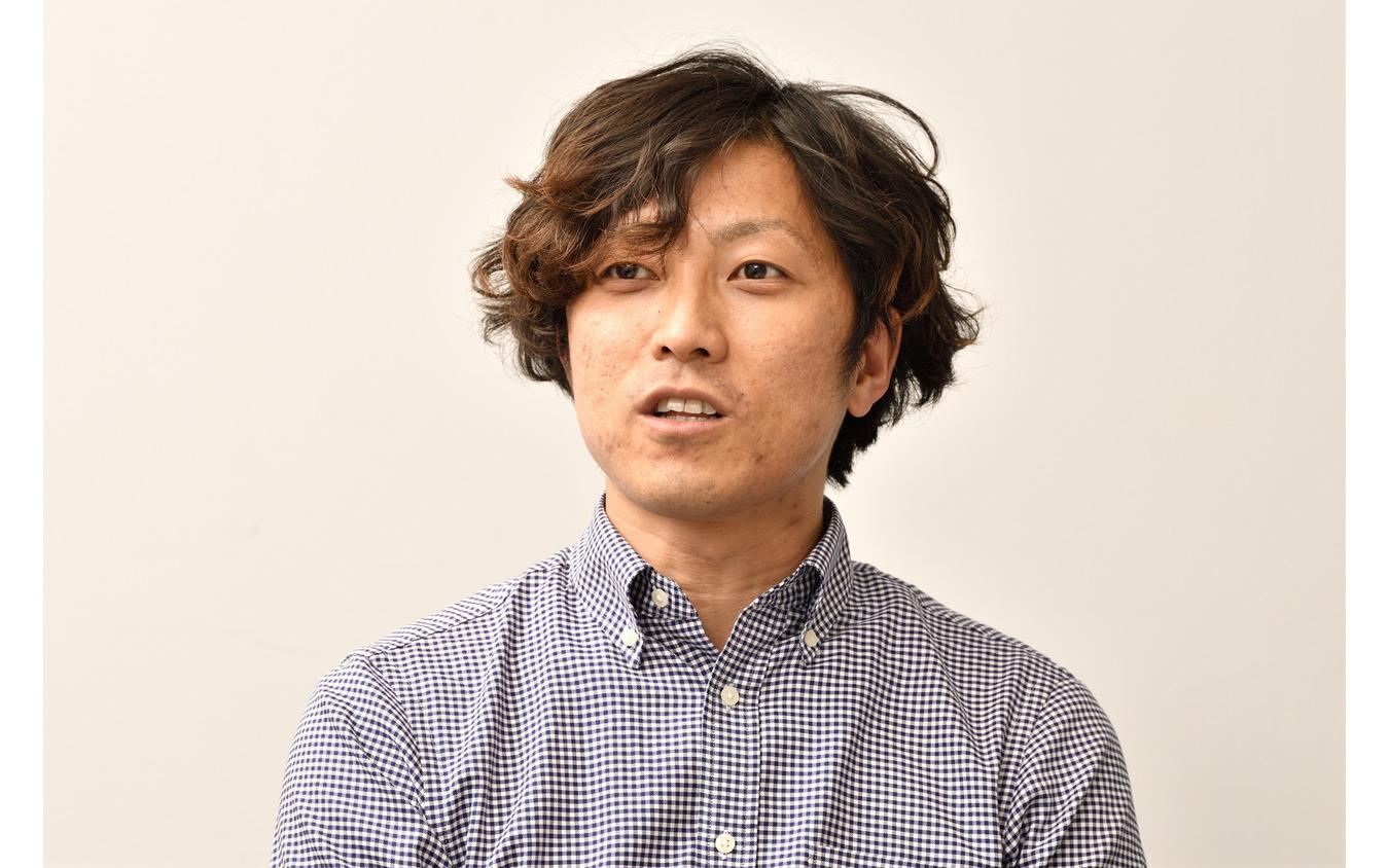 クリエイティブ本部 プランニングデザイン部 プランニングデザイン1グループ 主事の安田将啓氏