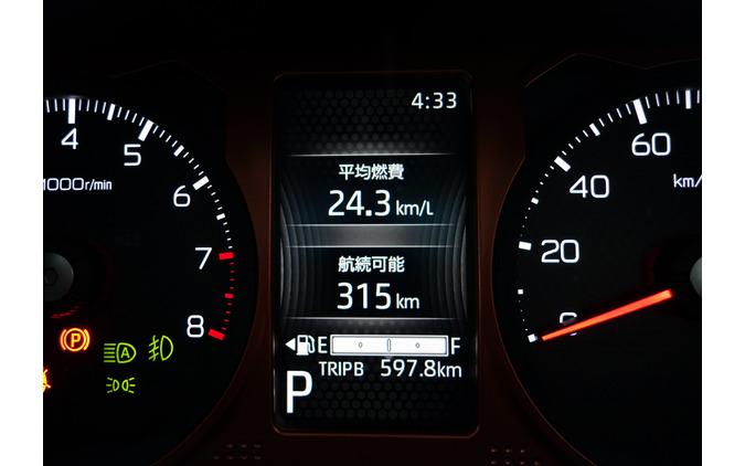 総走行距離597.8kmのプチ旅行。