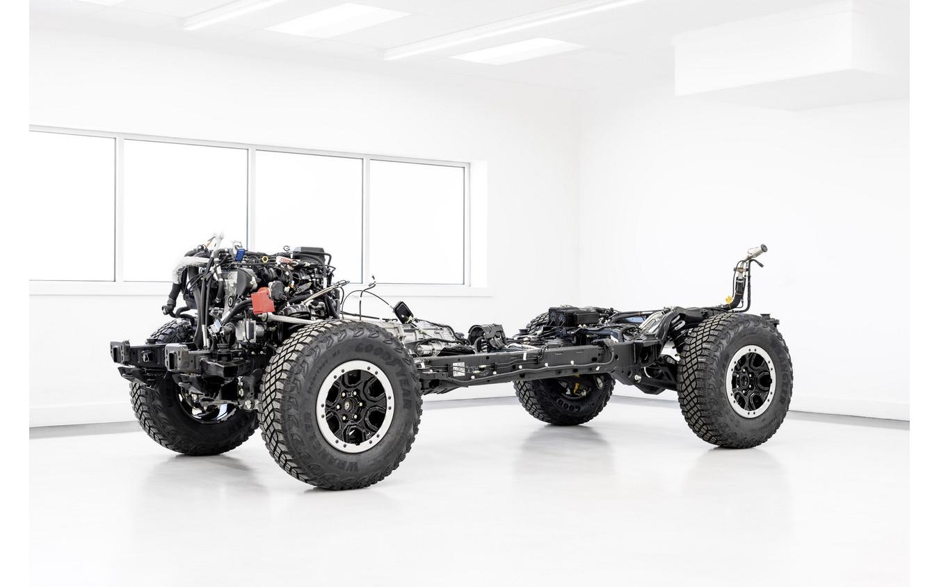 フォードモーターのフォード・ブロンコ 新型