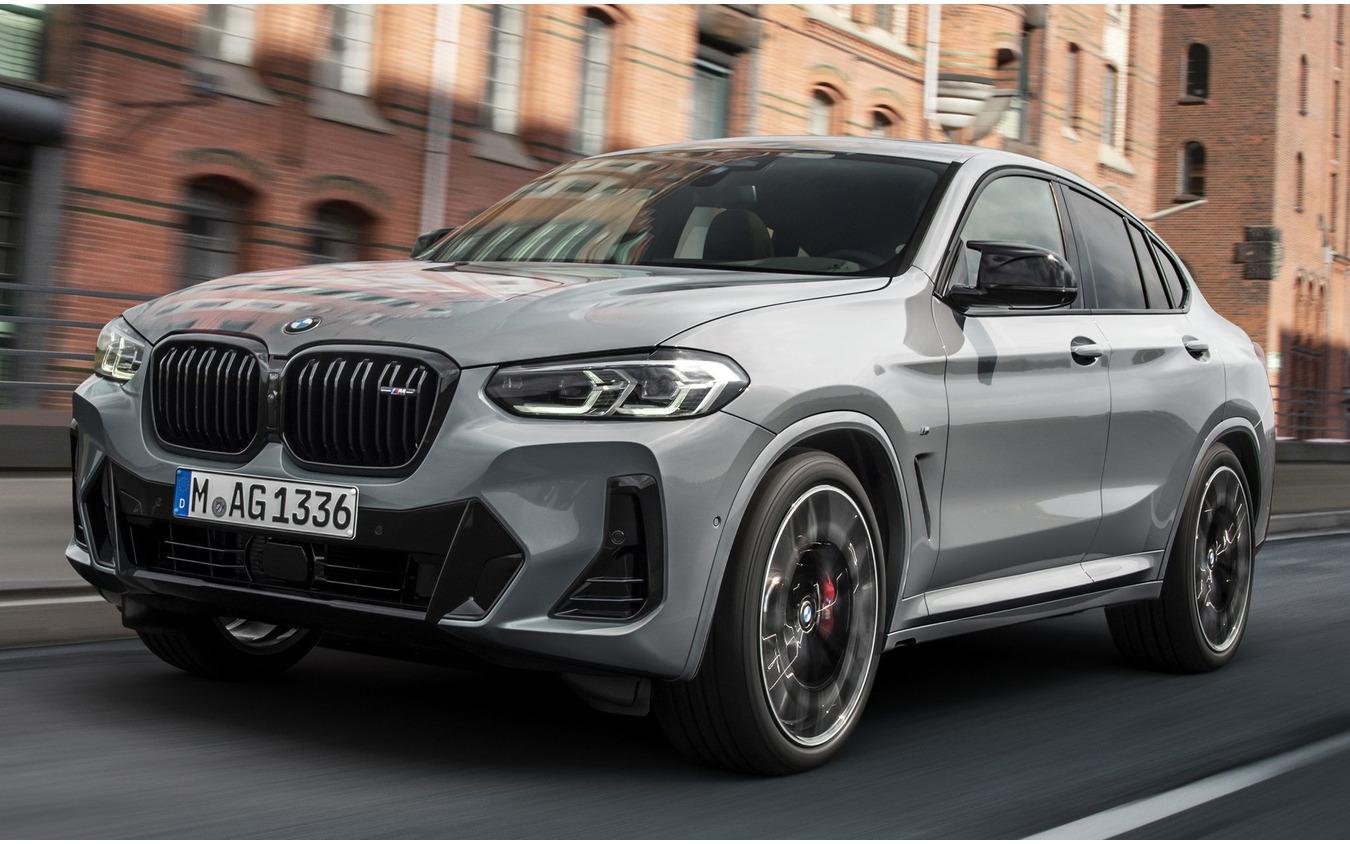 BMW X4 改良新型の「M40i」