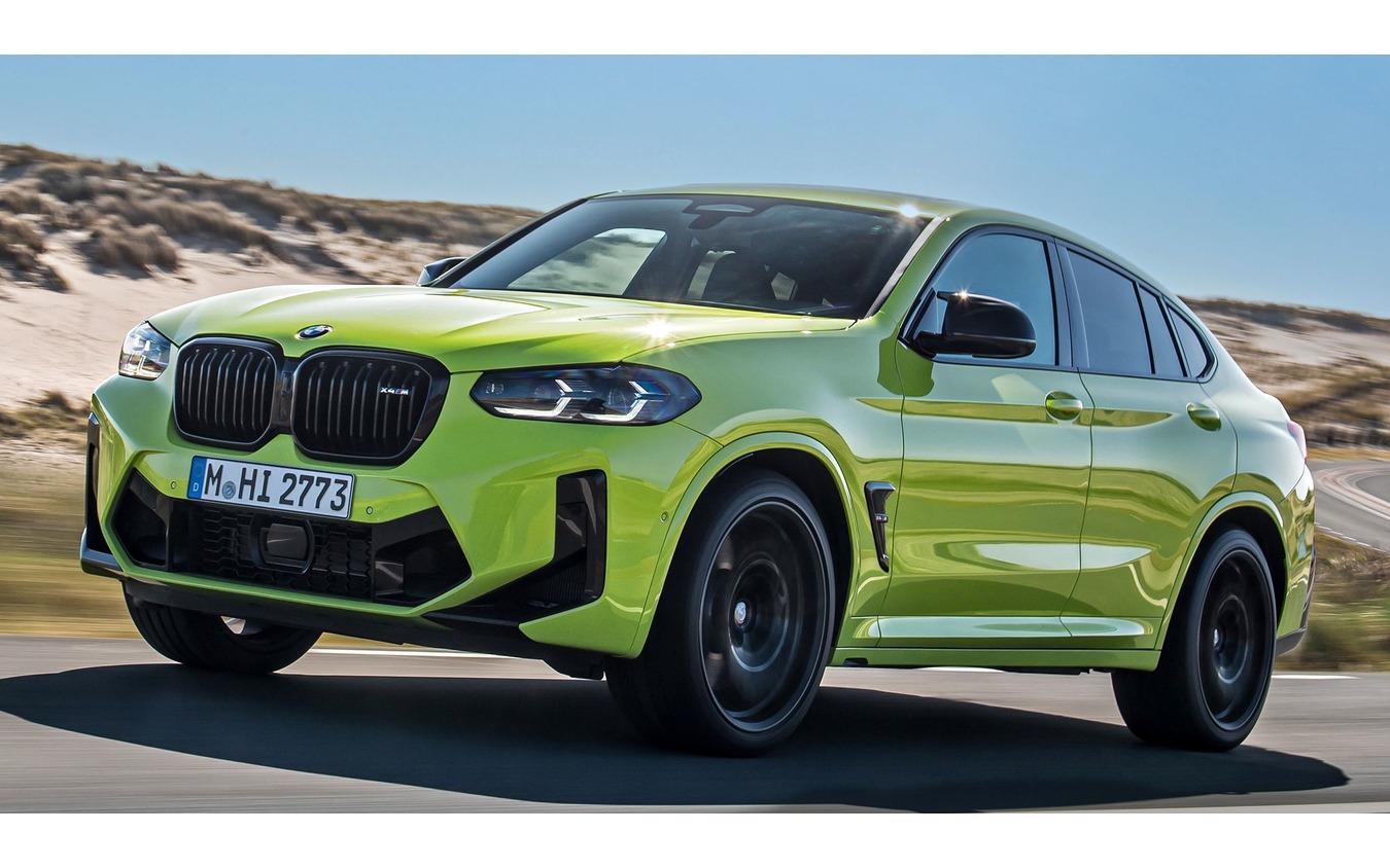 BMW X4M コンペティション 改良新型