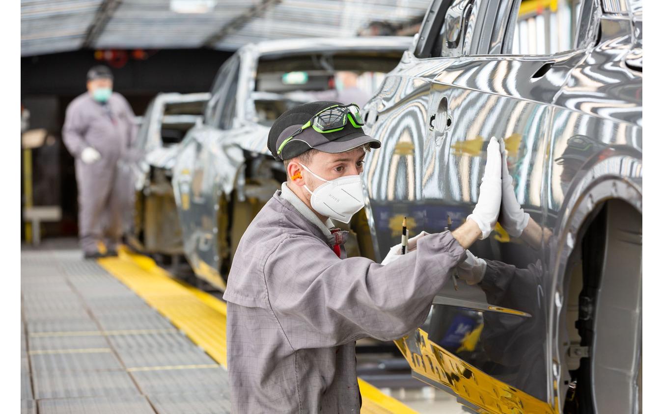 英国サンダーランド工場で生産が開始された日産 キャシュカイ 新型