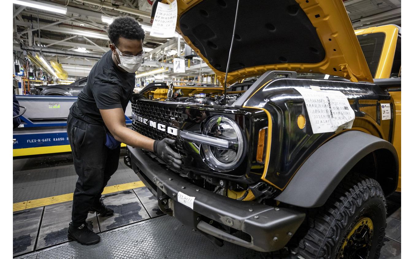 フォードモーターの米国ミシガン工場で生産を開始したフォード・ブロンコ 新型