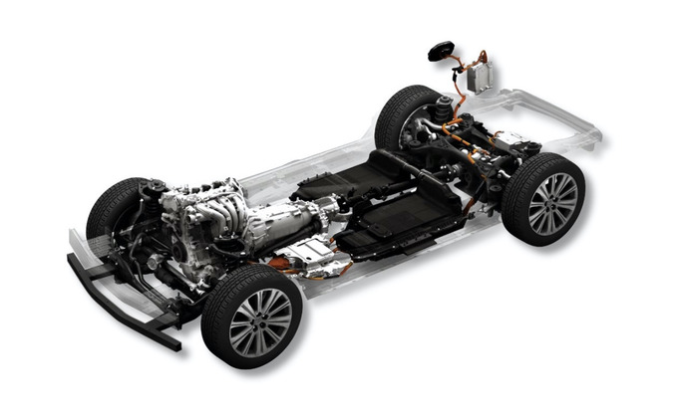 ラージ群:ガソリンエンジン・ラグインハイブリッド
