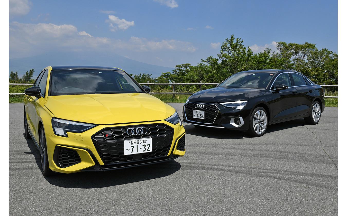 アウディ S3スポーツバック 新型と A3セダン 新型