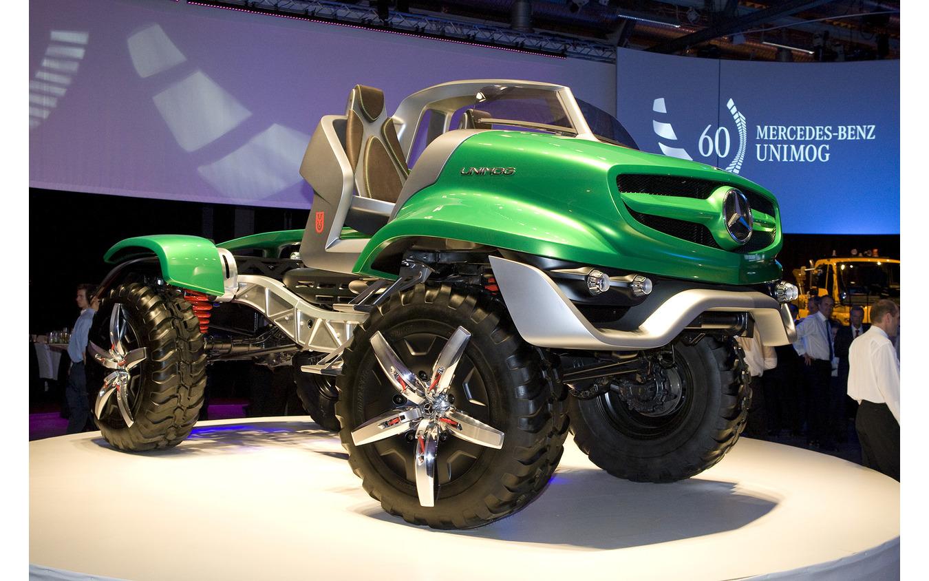 メルセデスベンツ『ウニモグ』の60周年を記念するコンセプトカー「60 Years Unimog」