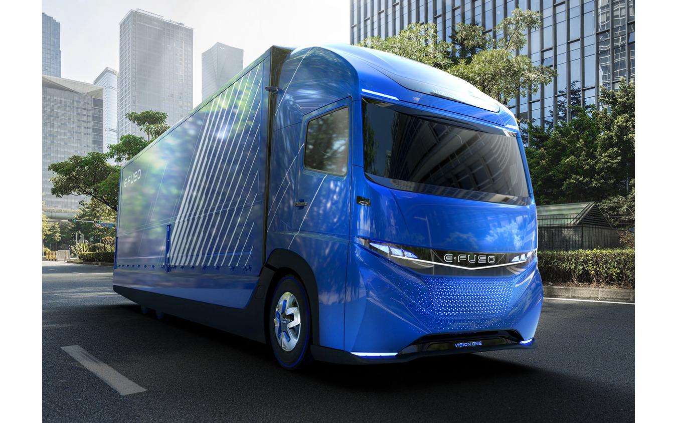 三菱ふそうが2017年に発表したコンセプトカー『Vision ONE』