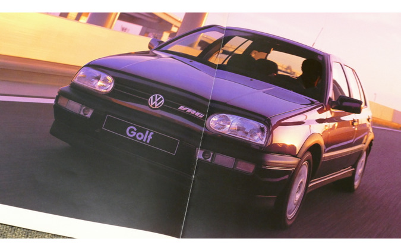 VW ゴルフVR6(ゴルフIII)