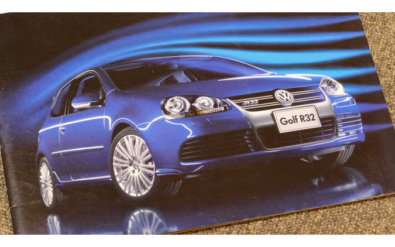 VW ゴルフR32(ゴルフV)