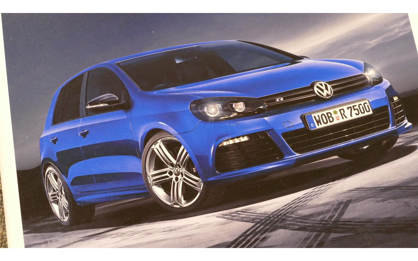 VW ゴルフR(ゴルフVI)