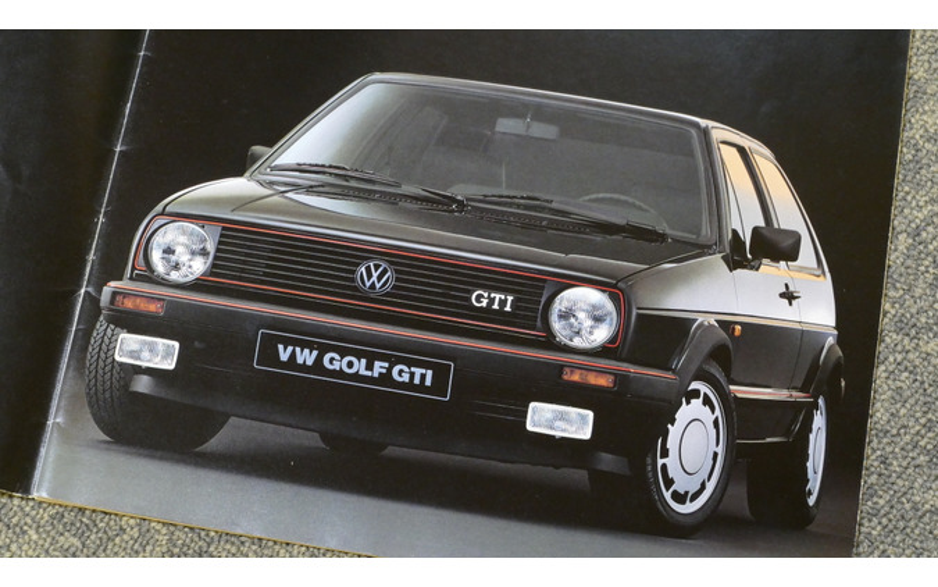 VW ゴルフGTI(ゴルフII)