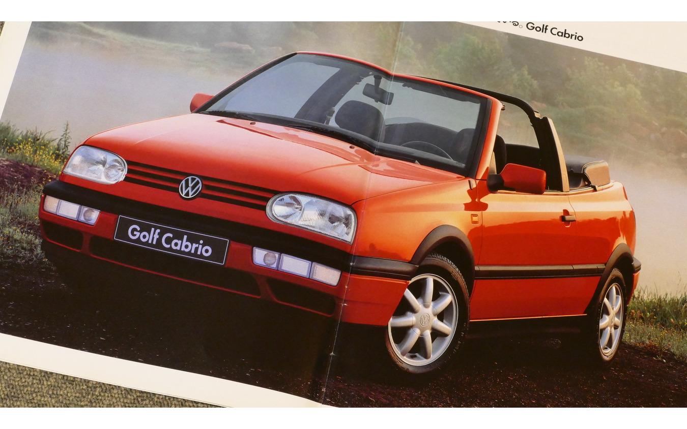 VW ゴルフ カブリオ 2代目