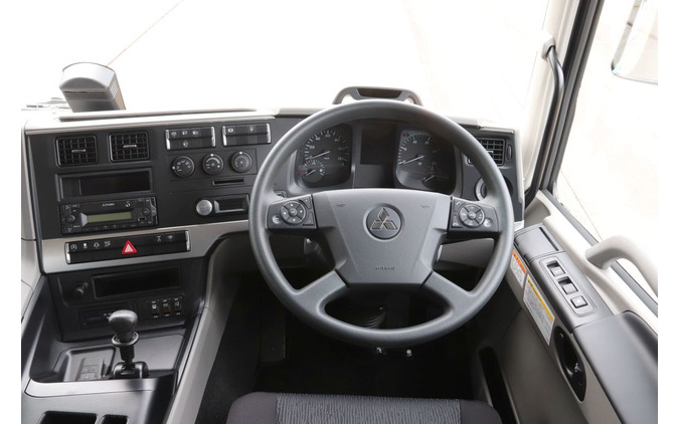 三菱ふそう:スーパーグレートのアクティブ・ドライブ・アシストをバージョンアップ