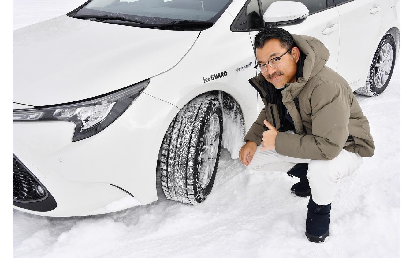 ヨコハマ アイスガード7 雪上氷上試乗 塩見智氏