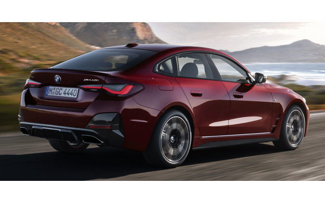 BMW 4シリーズ・グランクーペ 新型の「M440i xDrive」
