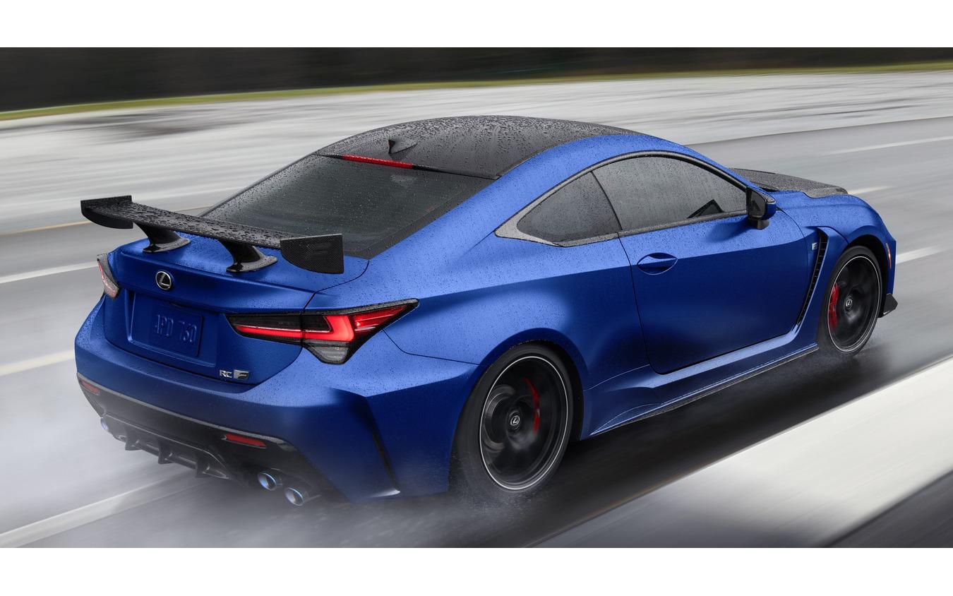レクサス RC F の「富士スピードウェイエディション」の2022年モデル(米国仕様)