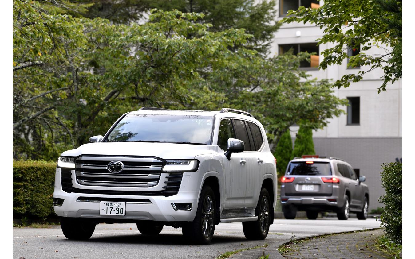 トヨタ ランドクルーザー 新型(取材協力 富士マリオットホテル山中湖)