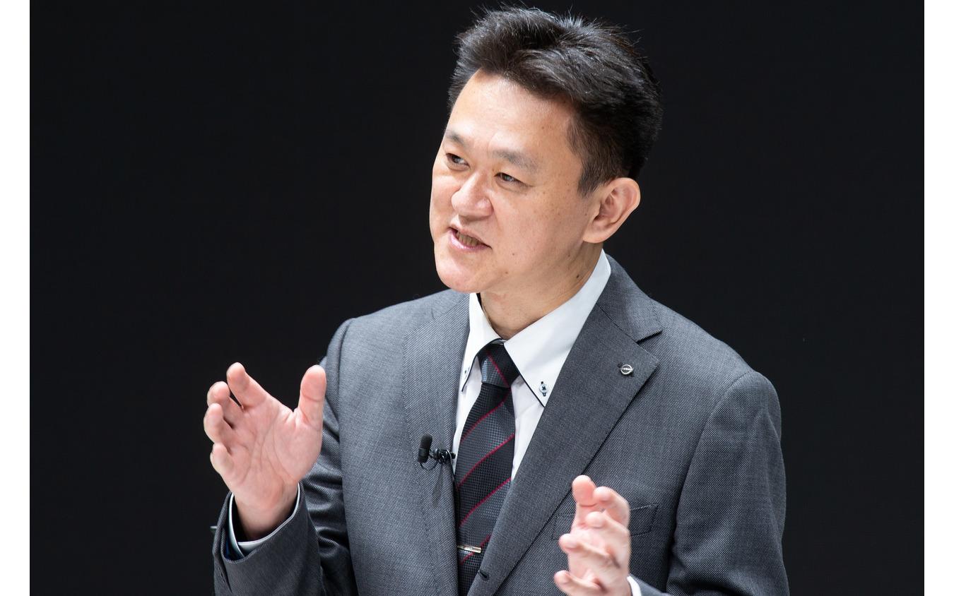 日産製品開発部チーフ・ビークル・エンジニアの川口隆志氏