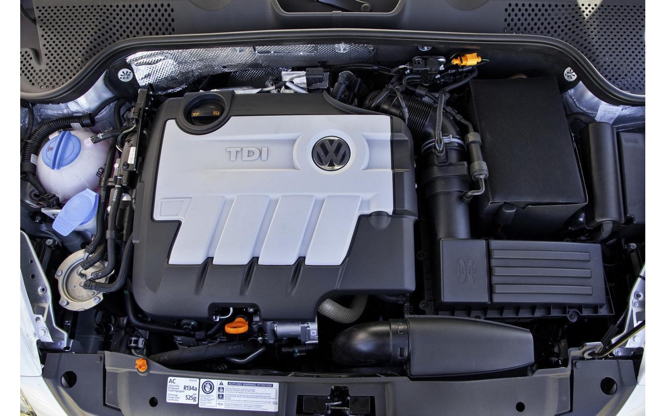 排出ガス偽装があったのと同型のVWのターボディーゼル「TDI」エンジン