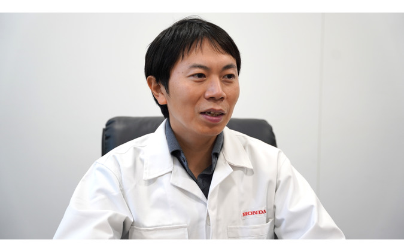 「くるますく」商品企画担当のホンダアクセス高橋一彰氏