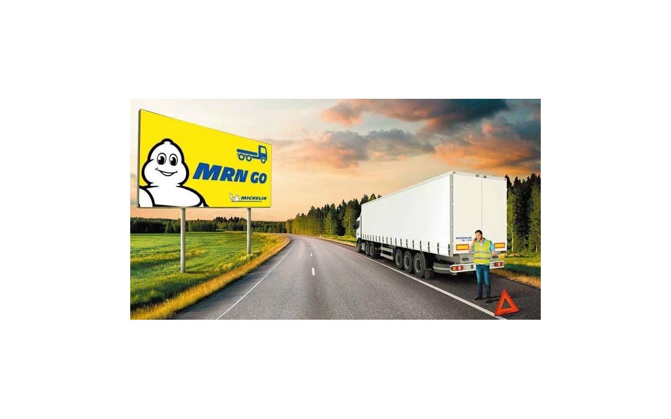 MRN GOイメージ:故障したトラック、連絡を取るドライバー