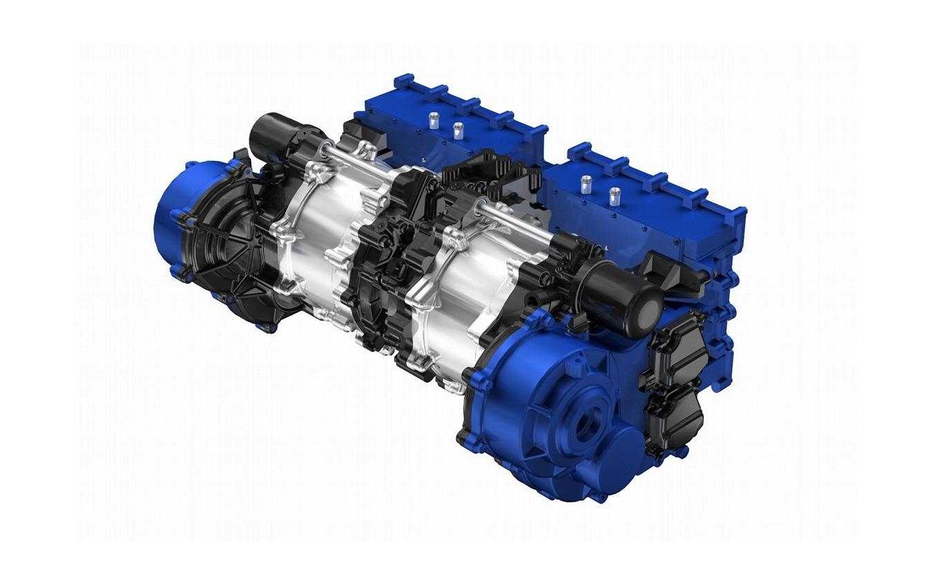 ヤマハ発動機のハイパーEV向け電動モーター(最大出力350kWクラス)の試作品