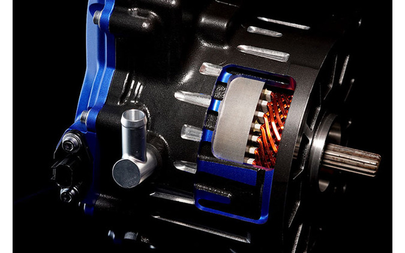 小型モビリティ向けの電動モーター(最大出力50kWクラス)