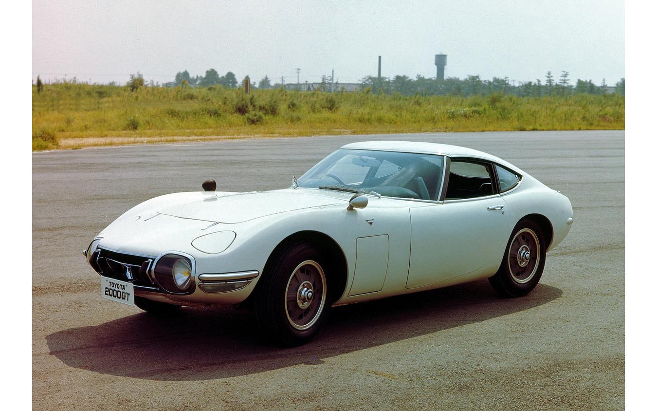 ヤマハ発動機がエンジンをはじめ車両の開発に携わったトヨタ 2000GT