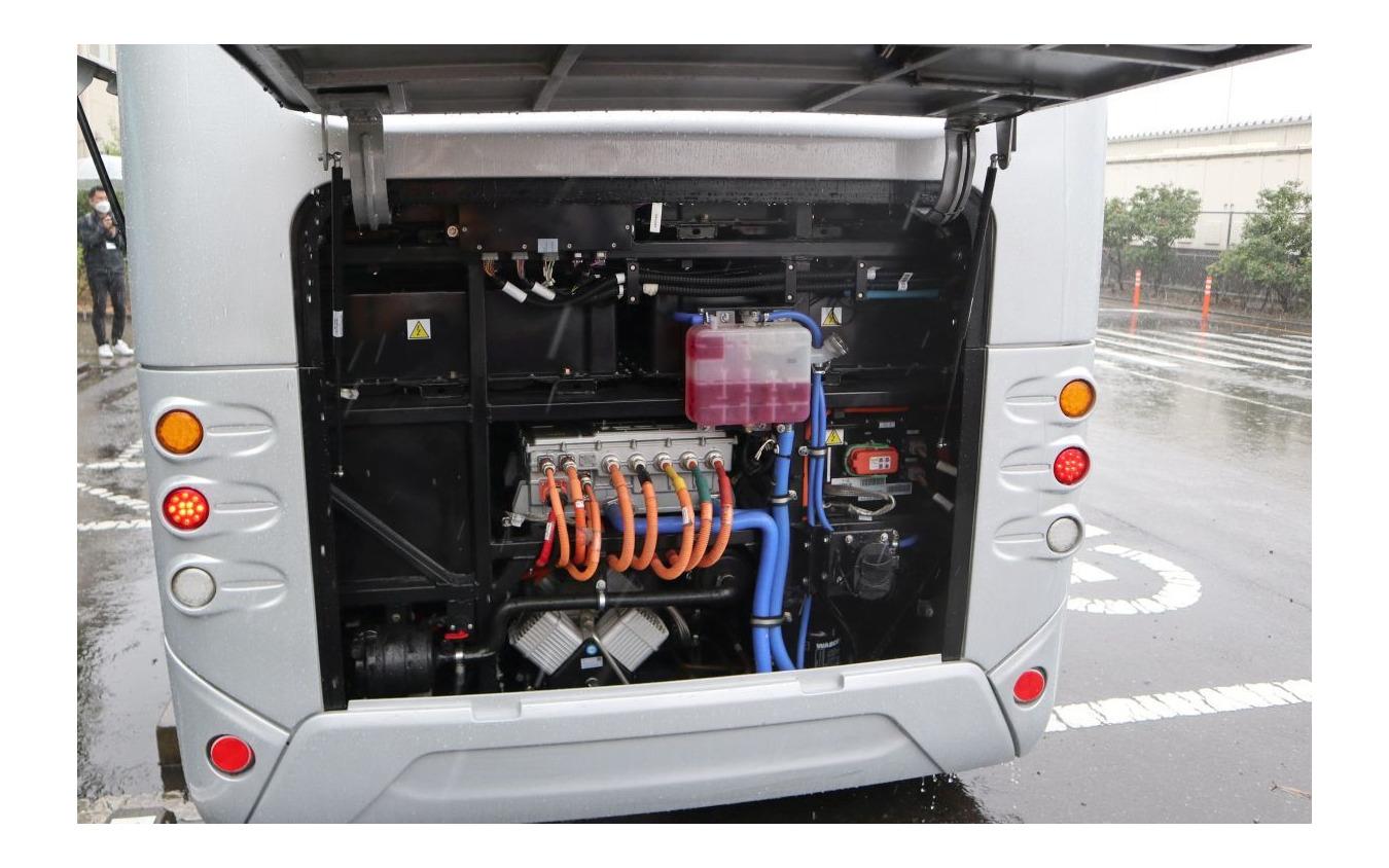 EV Motors Japan:新型EVマイクロバス