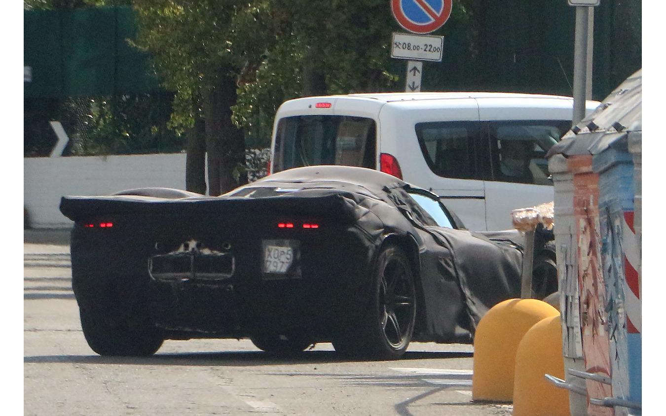 フェラーリ V12 Icona 開発車両(スクープ写真)