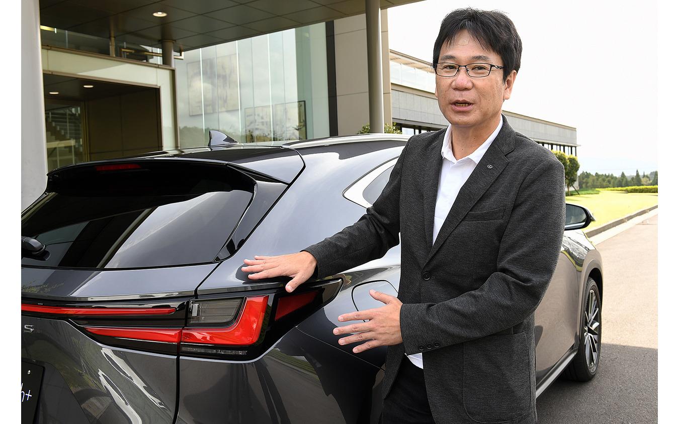 レクサスインターナショナル製品企画チーフエンジニアの加藤武明氏
