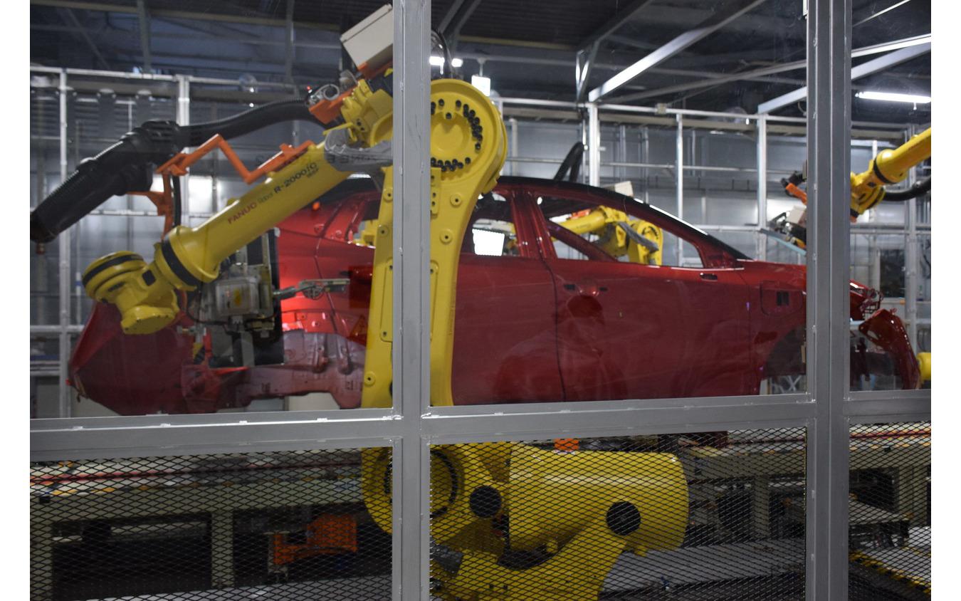 リニューアルした日産の栃木工場