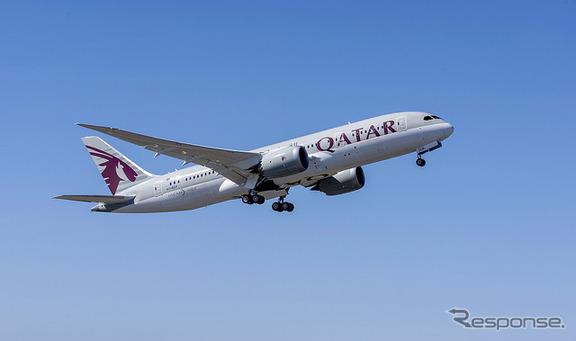 カタール航空のボーイング787