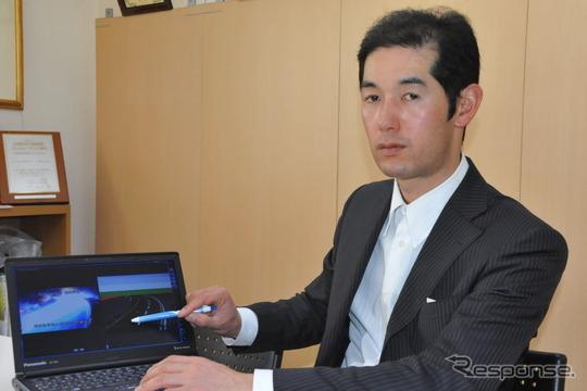日本交通事故鑑識研究所 大慈弥拓也社長