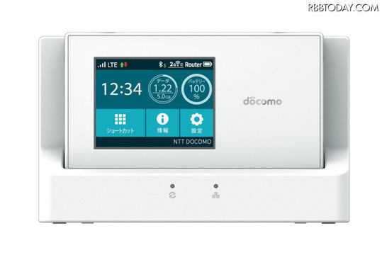 下り最大300Mbpsの「PREMIUM 4G」に対応したモバイルWi-Fiルータ「Wi-Fi STATION N-01H」