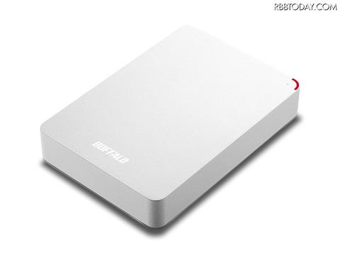 付属のソフトで最大1.2倍のデータが保存できるようにもなっているポータブルHDD「HD-PSF4.0U3」