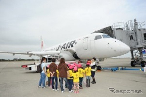 JALとベネッセ 体験飛行企画「明日のつばさ」を開催
