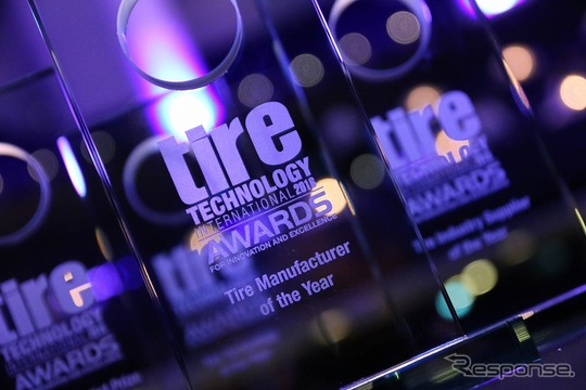 Tire Technology International Awards for Innovation and Excellence 2016(授賞式)
