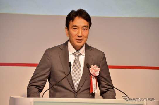本田技術研究所 四輪R&Dセンター センター長・山口次郎氏。